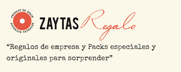 Regalos de empresa y packs Zaytas