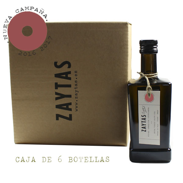caja de 6 aove picual aceite de oliva virgen extra de toledo