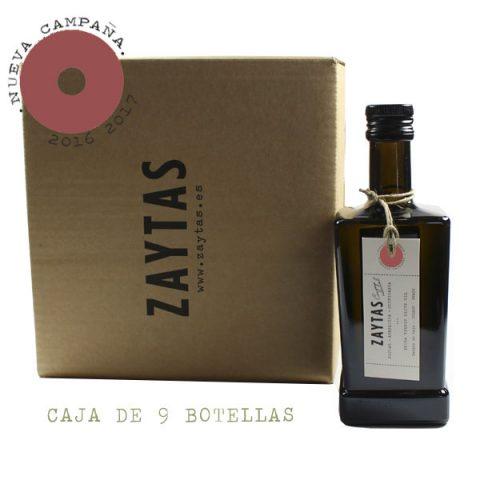 caja de 9 aove picual aceite de oliva virgen extra de toledo