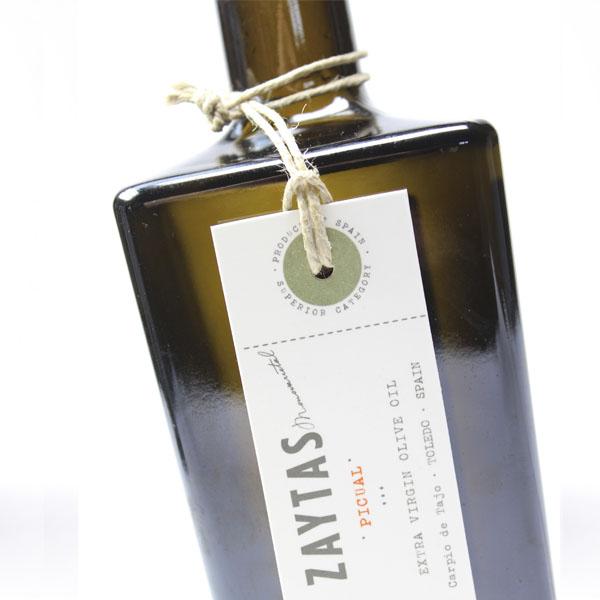 Botella de Aceite de Oliva Virgen Extra variedad Picual de Zaytas