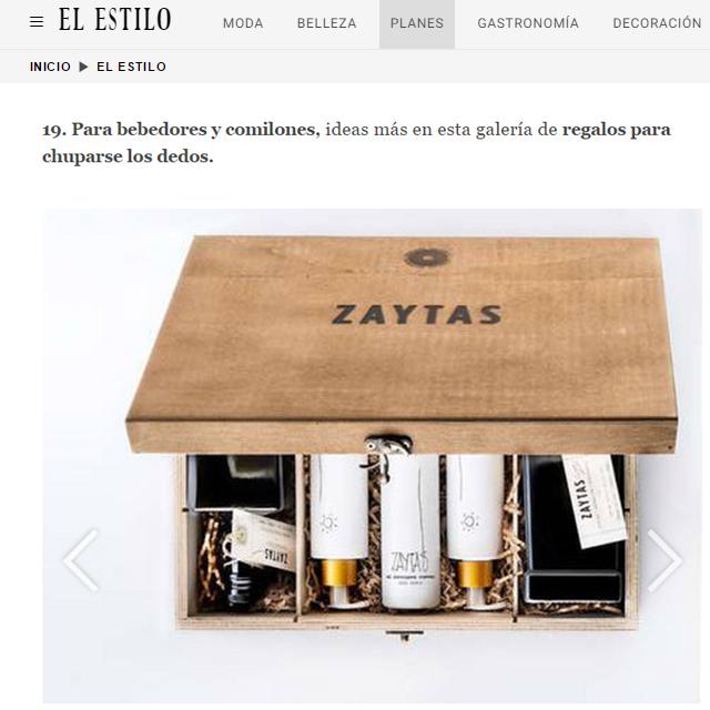 Zaytas en El Español